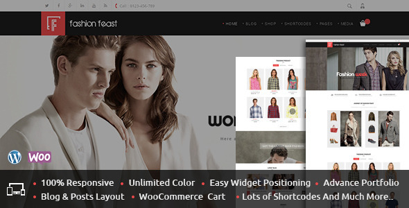 Fashion Feast – WooCommerce Responsive Theme
