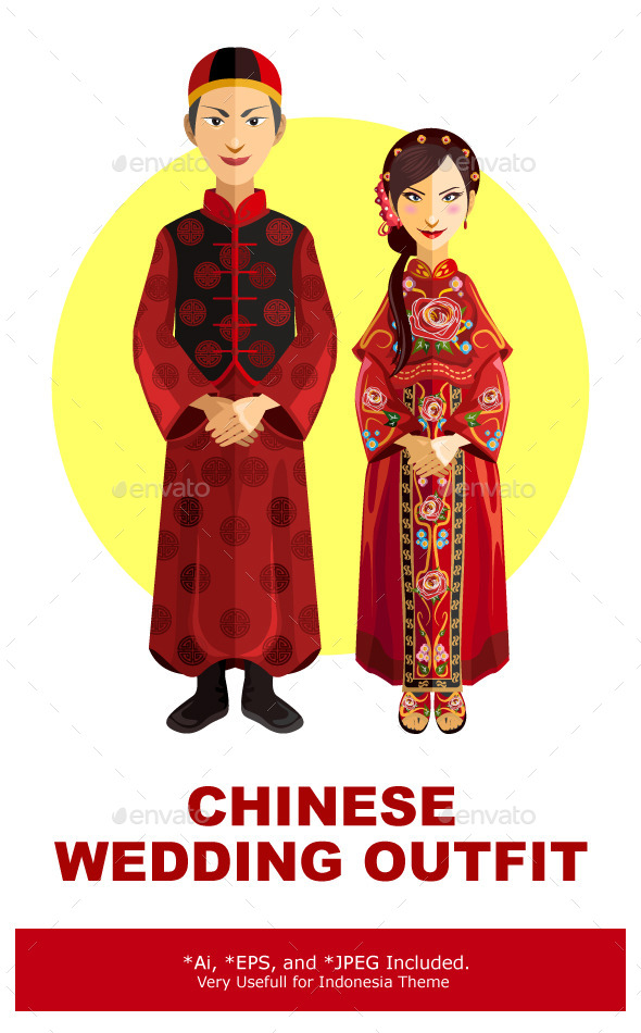 Chinese Marriage Wedding Outfit Ceremony - Weddings Seasons/Holidays