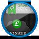 Premium Donation Buttons - Light & Dark - GraphicRiver Item for Sale