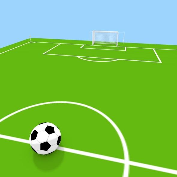 3d Soccer Field By Subbersabe 3docean