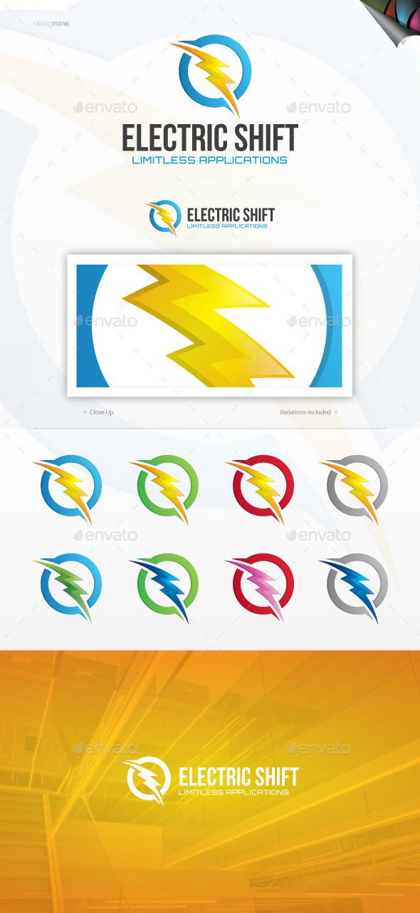 Electric Shift Logo - Nature Logo Templates