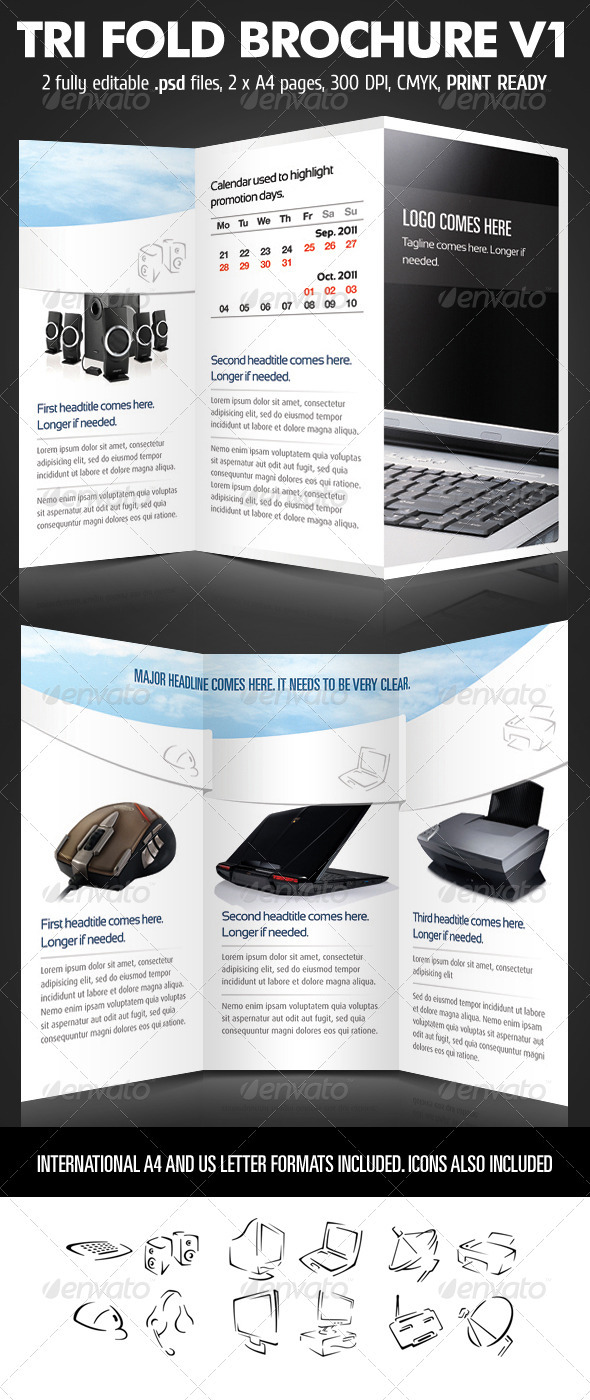TriFold Brochure V1 - Corporate Brochures