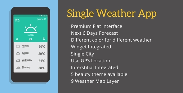 Single Weather - CodeCanyon Item for Sale