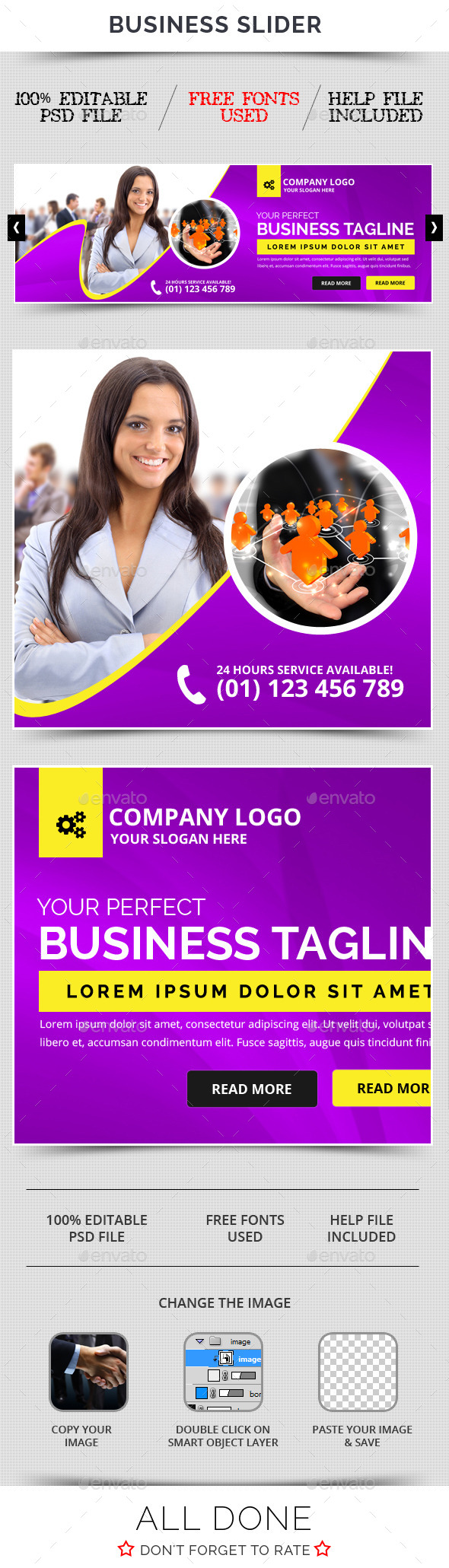 Business Slider V36