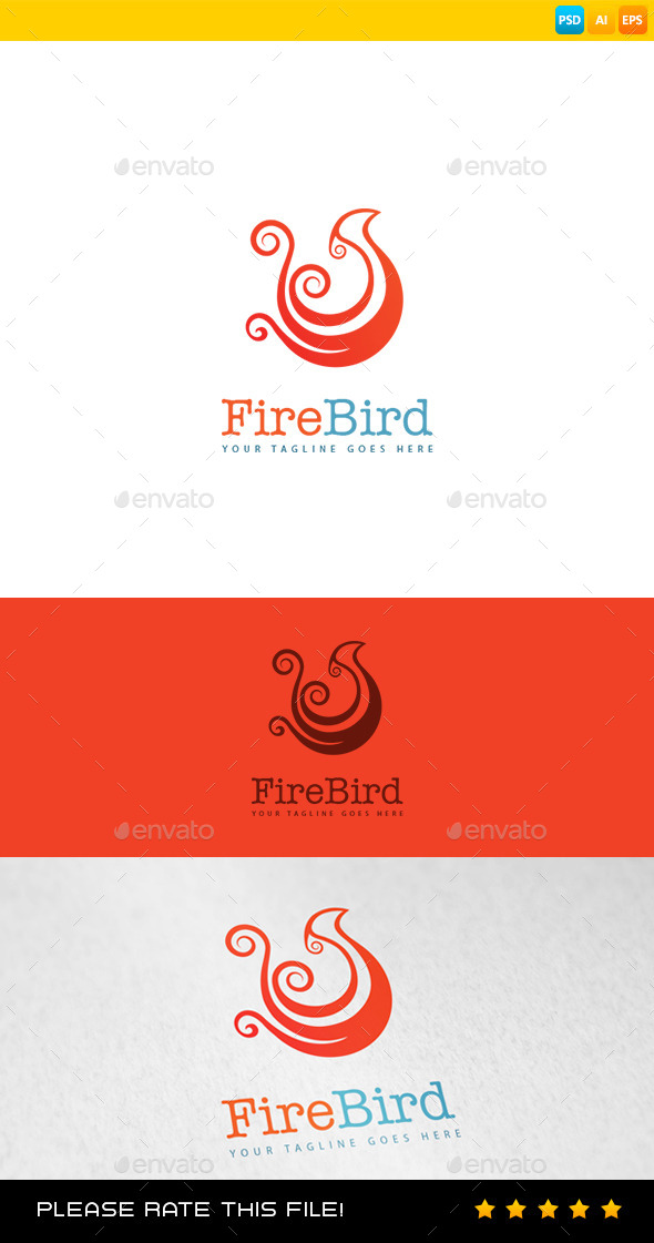 Fire Logo - Animals Logo Templates