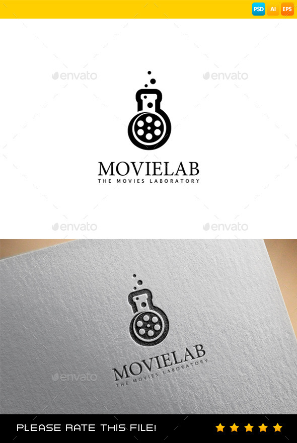 Movie Logo - Vector Abstract
