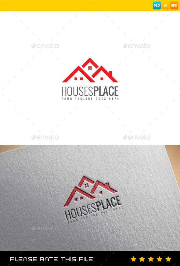 Houses Logo - Buildings Logo Templates