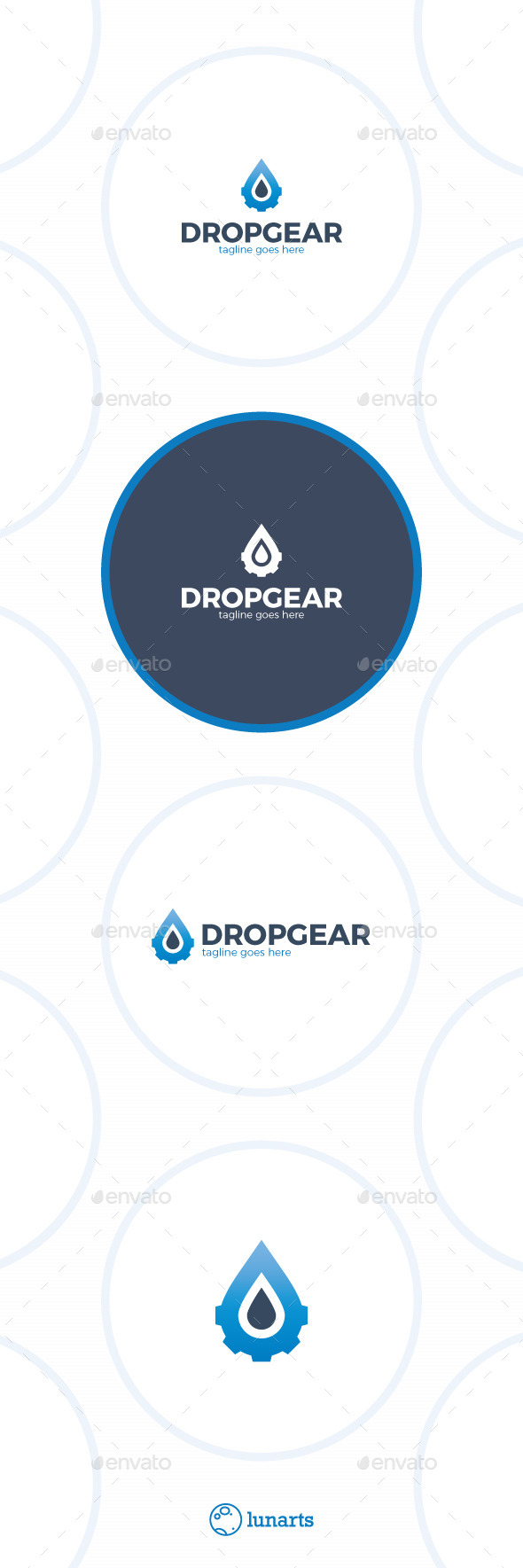 Oil Gear Drop Logo
