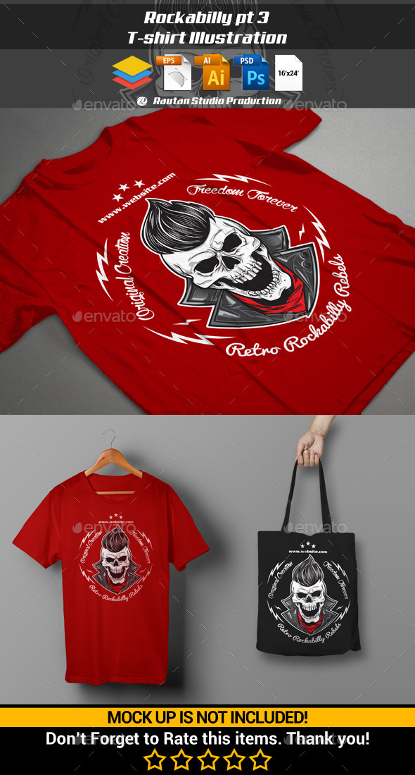 Rockabilly pt 3 - Designs T-Shirts