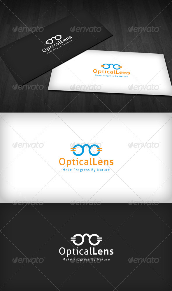 Optical Lens Logo - Objects Logo Templates