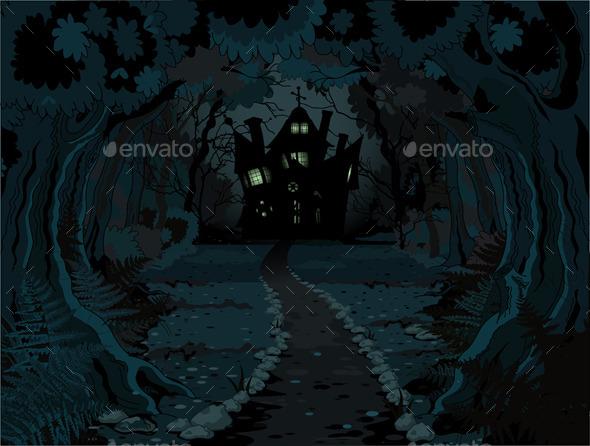 Halloween Forest  - Halloween Seasons/Holidays
