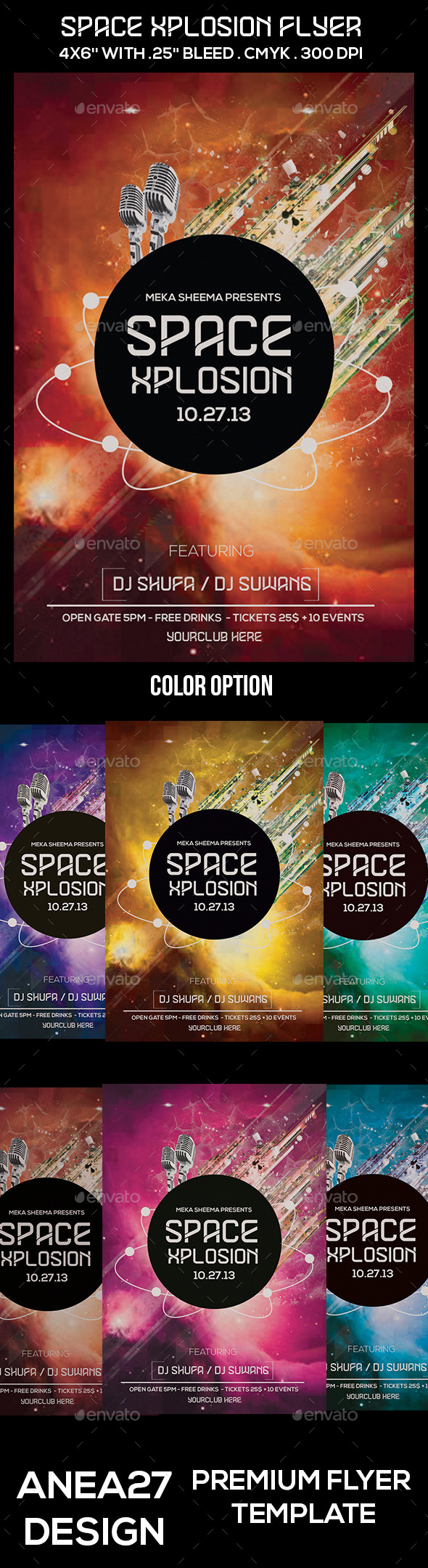 Space Xplosion Flyer