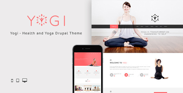 Yogi - Health Beauty & Yoga Drupal Theme - Health & Beauty Retail