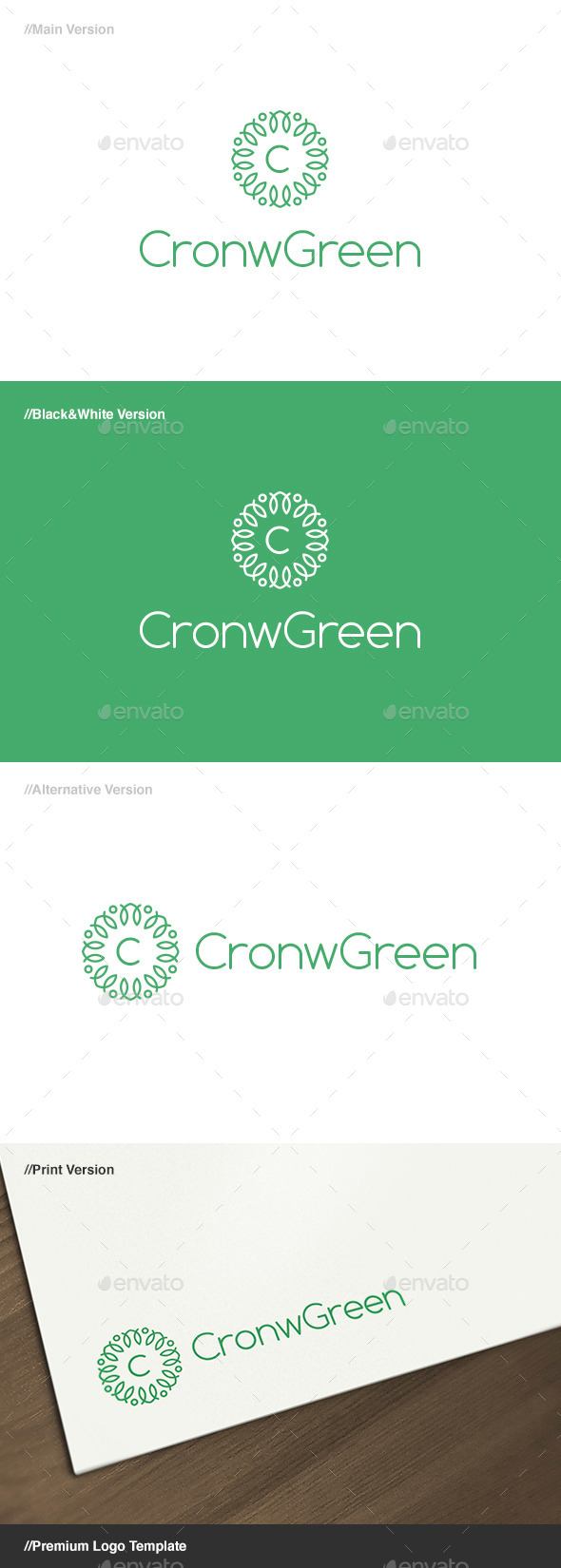 Crown Green Logo - Crests Logo Templates