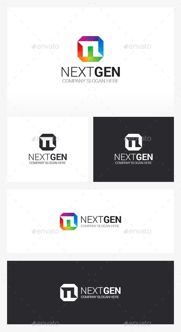 N Logo - Letters Logo Templates