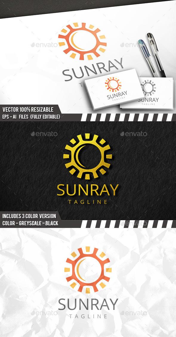 Sun Elegant Logo - Nature Logo Templates