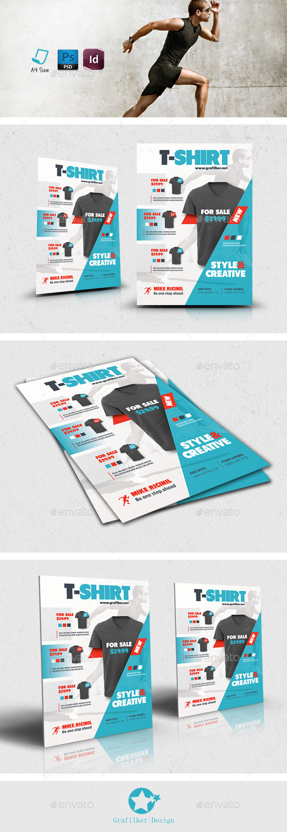 T-Shirt Flyer Templates - Corporate Flyers
