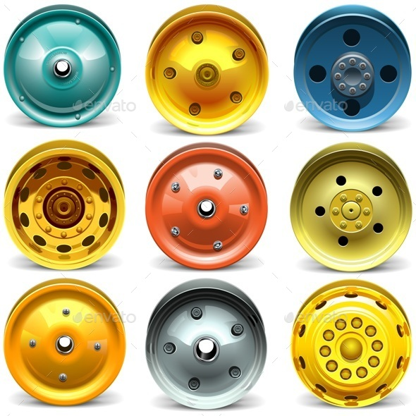 Vector Wheel Disk Set - Industries Business