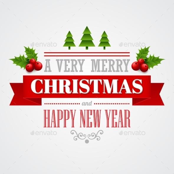 Christmas Labels, Emblems,  Decorative Elements - Christmas Seasons/Holidays