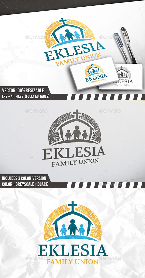 Charity Church Logo - Humans Logo Templates