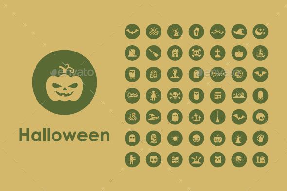 49 Halloween Icons