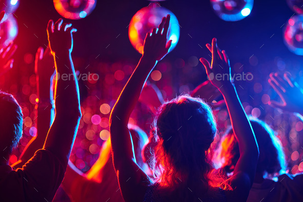 Dancing party - Stock Photo - Images
