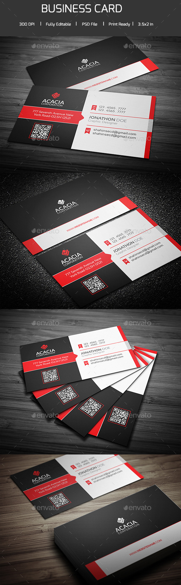 Creative Business Card V-02