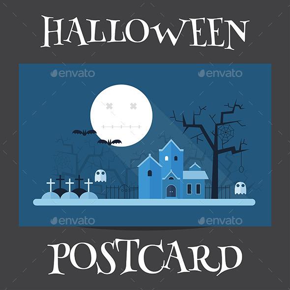 Halloween Mystic Landscape - Halloween Seasons/Holidays
