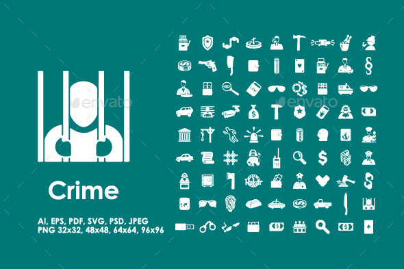 81 Crime Icons - Icons