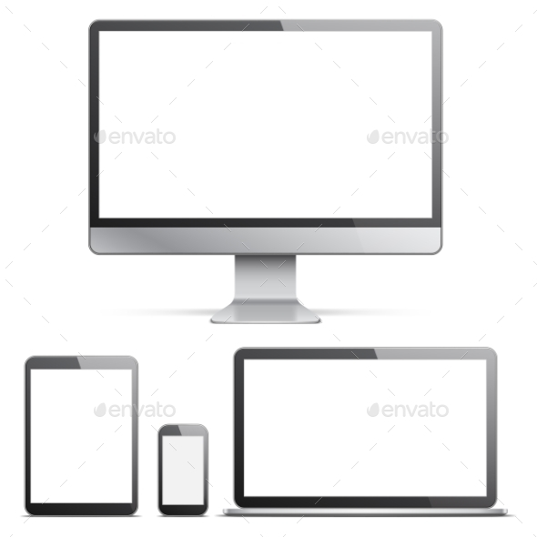 Electronic Devices With White Screens  - Computers Technology