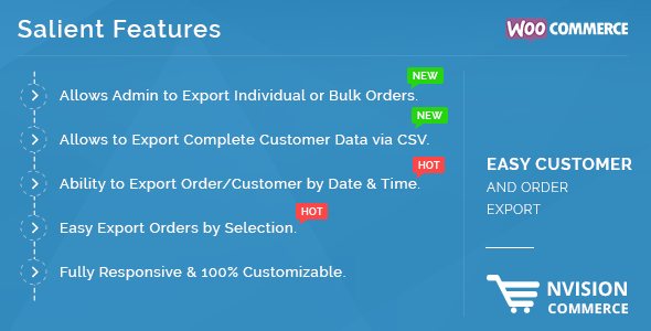 Easy Customer and Order Export in WooCommerce