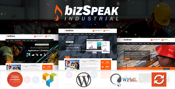 BizSpeak – Responsive Industrial WP Theme