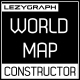 World Map Constructor - VideoHive Item for Sale