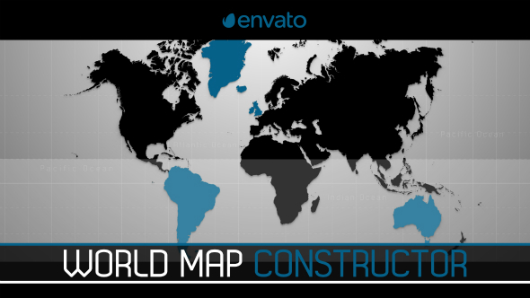 World map constructor by lezygraph videohive play preview video gumiabroncs Gallery