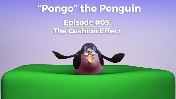 Pongo Penguin Cushion