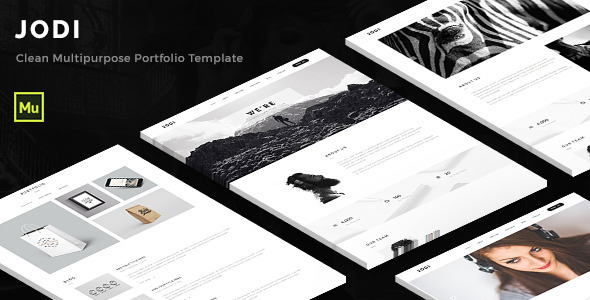 Jodi – Clean Multipurpose Portfolio Template