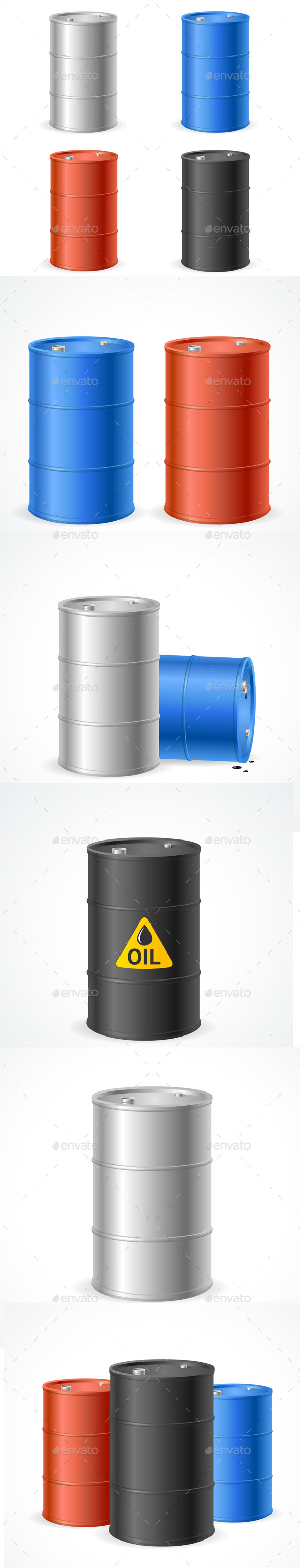 Oil Barrel Drum Collection