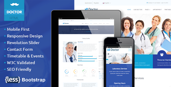 Doctor – Health Clinical Template