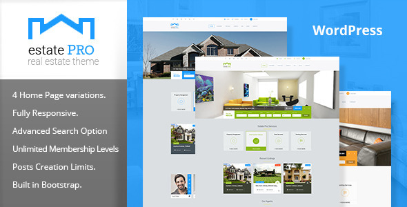 Estate Pro – Real Estate WordPress Theme