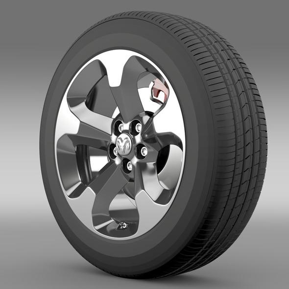 Ram Promaster City Tradesman wheel 2015 - 3DOcean Item for Sale