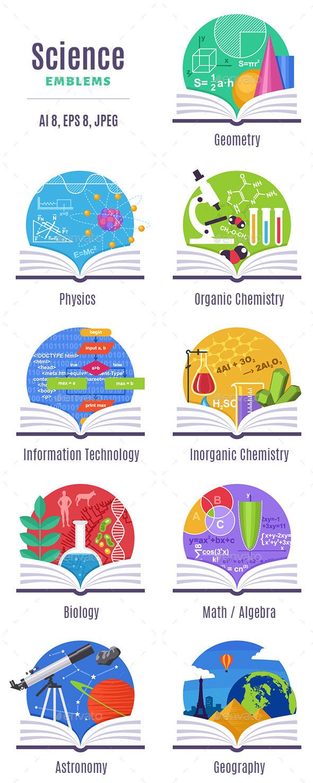 Science Emblems - Miscellaneous Conceptual