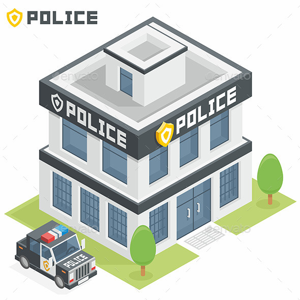 Police Department Building - Buildings Objects