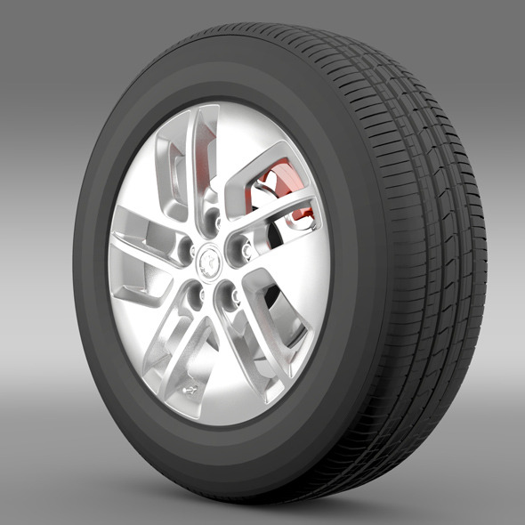 Vauxhall Vivaro wheel 2015 - 3DOcean Item for Sale
