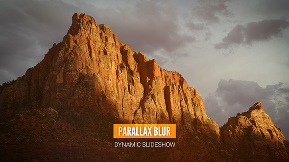Parallax Blur Dynamic Slideshow