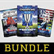Sport Flyer Template Bundle Vol. 21 - GraphicRiver Item for Sale