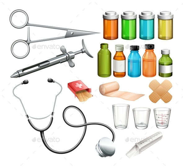 Medical Equipment and Container - Miscellaneous Conceptual