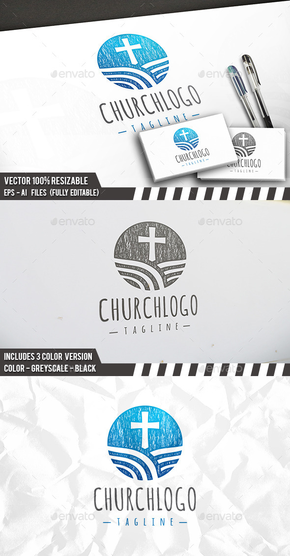 Church Brand Logo - Symbols Logo Templates