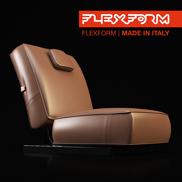 Plexform Sofa - 3DOcean Item for Sale
