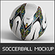 Football Ball Mockup - GraphicRiver Item for Sale