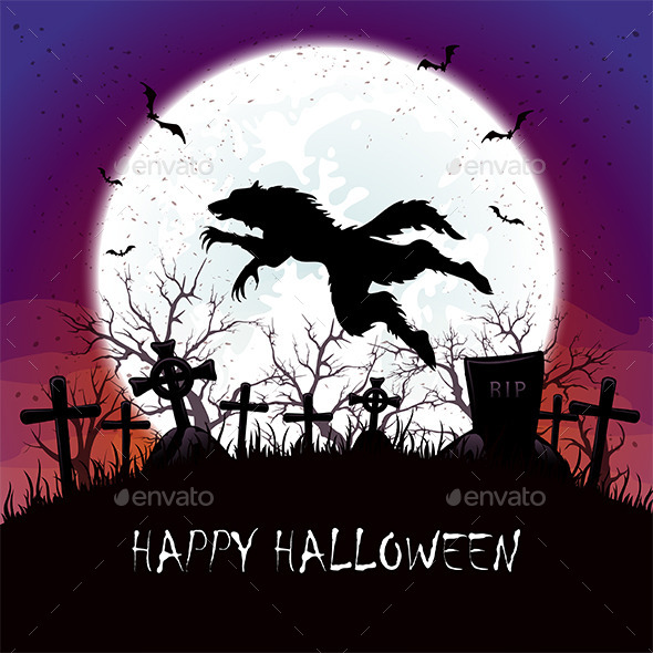 Werewolf Jumps - Halloween Seasons/Holidays